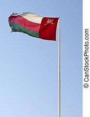 national flag of Oman
