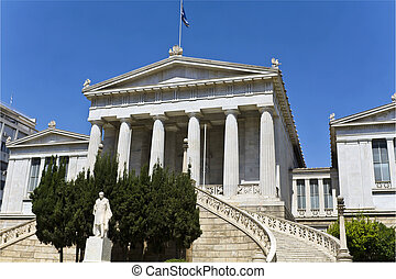 The national library of Greece in A