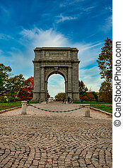 The National Memorial Arch at Valley Forge National Historical Park