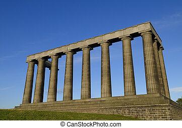 The National Monument, Carlton Hill, Edinburgh - The...