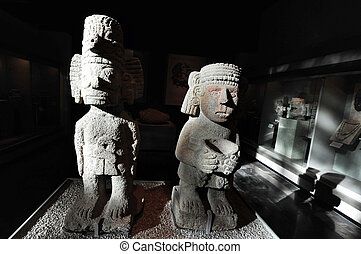 The National Museum of Anthropolog in Mexico City
