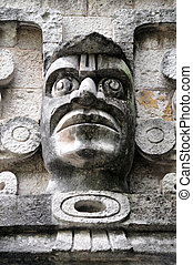 The National Museum of Anthropolog in Mexico City -...