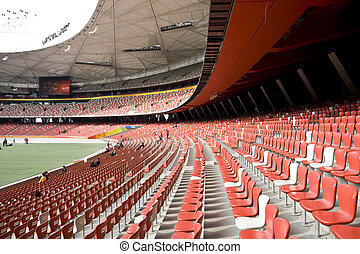 National Olympic Stadium - The National Olympic Stadium Bird...
