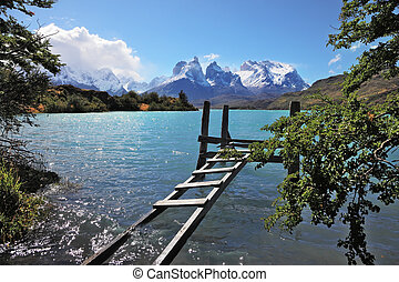 The National Park Torres del Paine in Chile