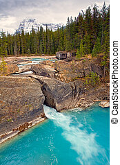 The Natural Bridge in Yoho National Park, Canada