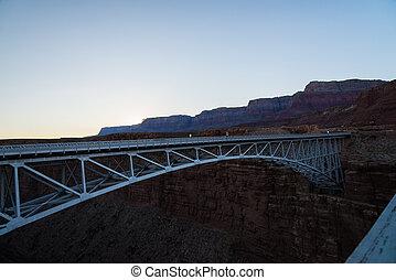The Navajo Bridge in Arizona USA