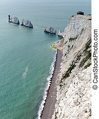 The Needles Isle of Wight landmark