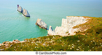 The Needles Isle of Wight landmark