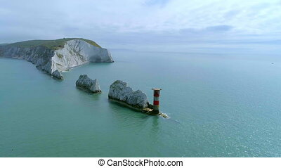 The Needles Isle of Wight Lighthouse - The Needles...