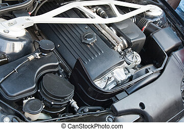 engine of modern vehicle