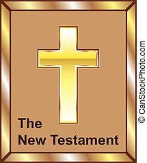 The New Testament Golden cross