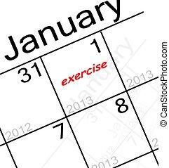 new years resolution - the new years resolution is. . . ...