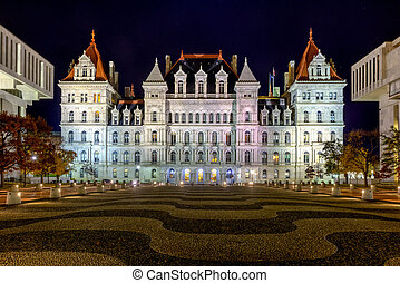 The New York State Capitol Building