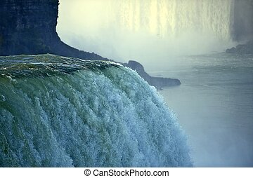 Niagara Falls - The Niagara Falls, Located on the Niagara...
