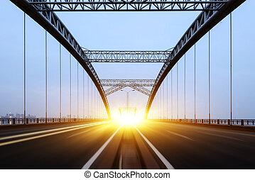 the night of modern bridge,