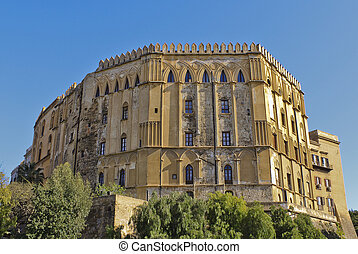 Normans' Royal Palace - The Normans' Royal Palace in Palermo...