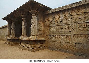 The northern entrance, Hazara Rama Temple. Royal Center or ...