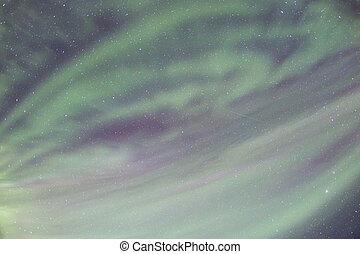 The Northern Light Aurora borealis