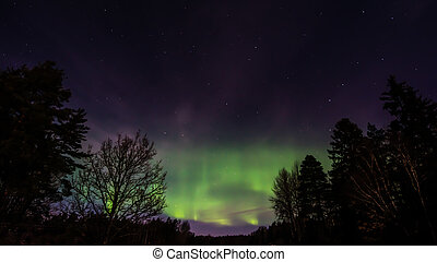 The Northern Lights Aurora Borealis