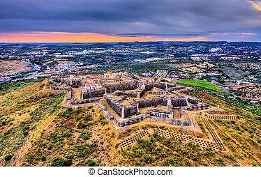 The Nossa Senhora da Graca Fort in Elvas, Portugal - The ...