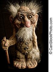 The nowegian Troll - a typical norwegian Troll