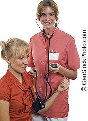 The nurse