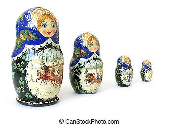 The nursery toy. Russian national souvenir
