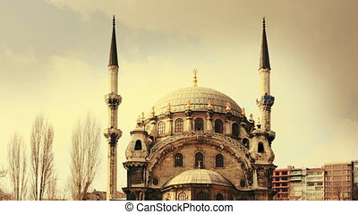 the Nusretiye Cami mosque in istanbul, turkey