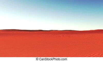 the oasis amidst desert 4k