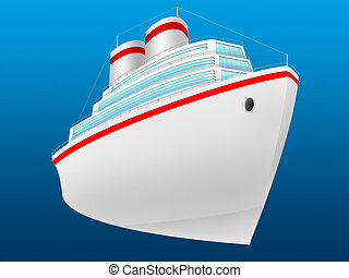 ocean liner - The ocean liner for transportation of...