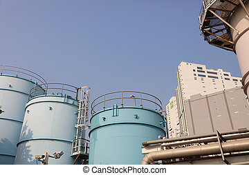 Oil and gas industry at Tsing Yi - the Oil and gas industry...