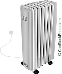 The oil electric heater