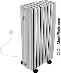 The oil electric heater - Electric oil heater for...