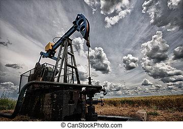 the oil pump - Oil pump, industrial machine for petroleum in...