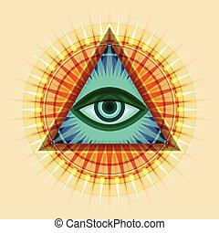 (the, ojo, all- ver, providence)