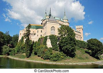 The old Bojnice castle in SLovakia