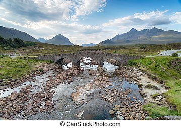 Sligachan on the Isle of Skye