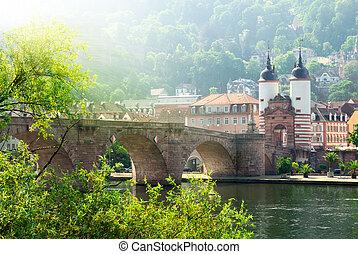 "The ""Old Bridge"" in Heidelberg, Germany"