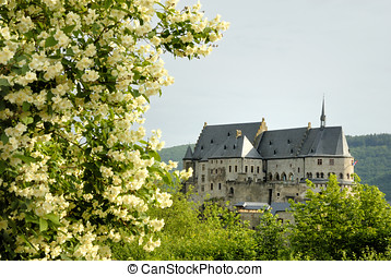 The old castle of Vianden