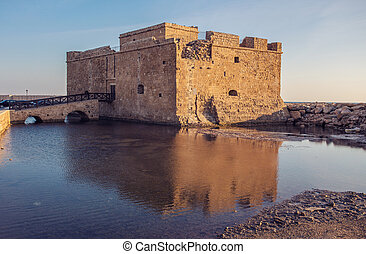 The old castle, Paphos, Cyprus.