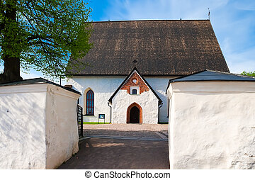 The old church in Porvoo
