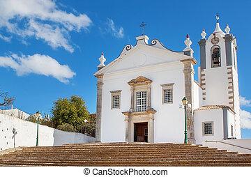 The old church of the village Estoi. Faro, Portugal.