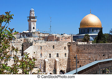 The Old City of Jerusalem.