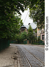 the old city of Lviv