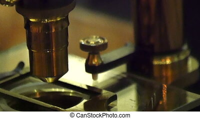The old classic microscope