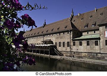 The old custom house of Strasbourg