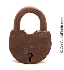 The old door lock
