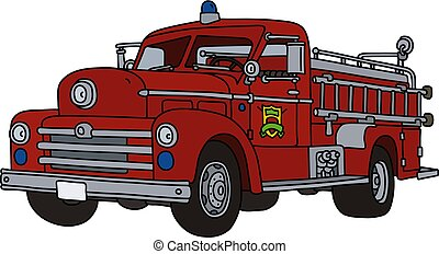 The old fire truck
