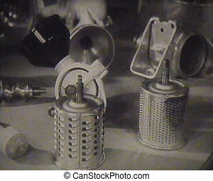 The old food processor