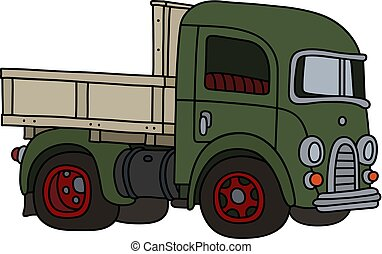 The old green truck